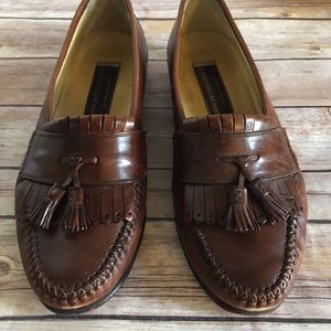 Johnston & Murphy Handcrafted Tassel  Loafers 10M